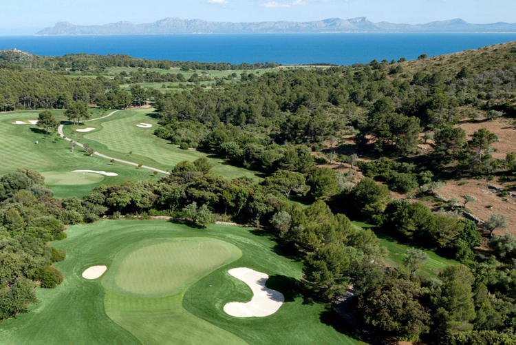 Golf Club Golf Alcanada in Alcudia in Mallorca