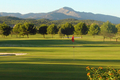 The golf courses of Santa Ponsa I, II and III in the southwest of Mallorca