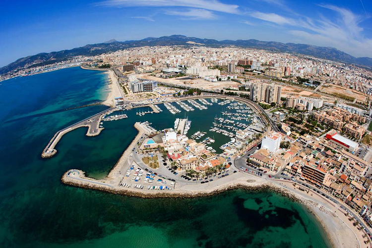 Mallorca Es Portixol Harbour and Yacht Club