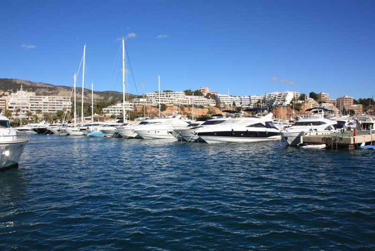 Puerto Portals marina port description and properties