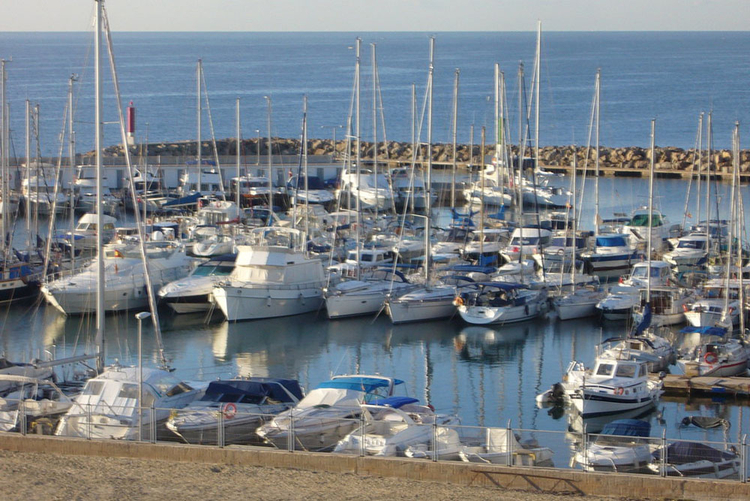 Port in the south of Mallorca Can Pastilla