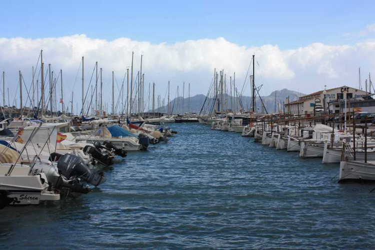 Port of Pollensa information and coordinate