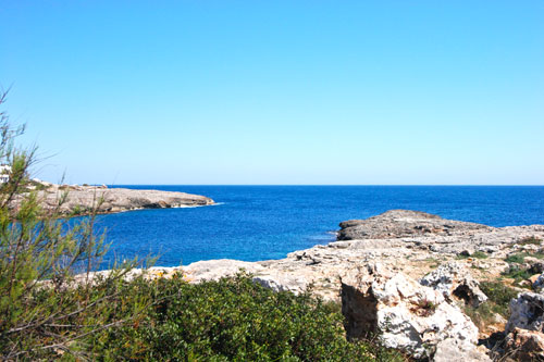 Cala Dor buy land, building plot for sale in first sea linie in Mallorca