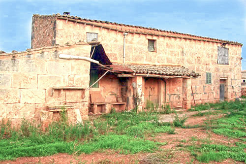 Ruin Windmill mill Campos mallorca majorca property for sale buy realestate