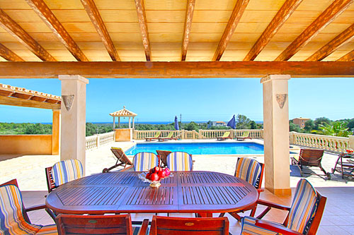 sea view villas for sale Mallorca Porto Colom Finca Golf Property Buy Real Estate Sales