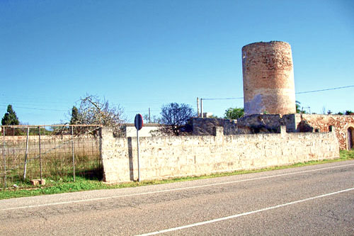 Property Mallorca Santanyi windmill ruins Commercial Property Estate Agents Holiday Villas for rent