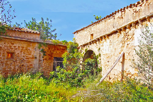 Mallorca Townhouse Country house sale palace ruins Gross Santanyi Property