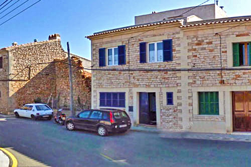 Mallorca real estates Santanyi city hall of city halls village house broker