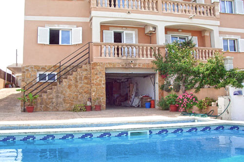 Villa with sea view Mallorca, Properties in Bahia Azul and Llucmajor