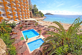 Magaluf buy commercial property directly on the beach