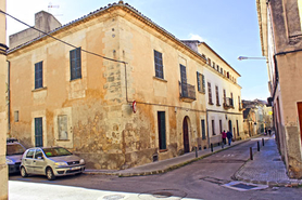 For sale Manacor town palace in central, historic property in Mallorca