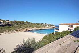 Sea view plots for sale Cala Mandia in East Majorca