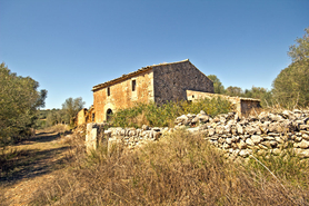Finca with large plot and ruin buy Mallorca Southeast