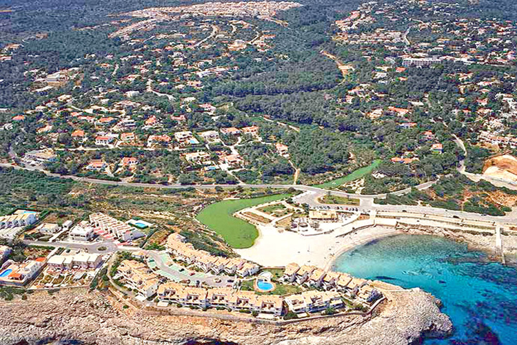 Cala Murada resort on the east coast of Mallorca