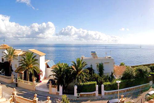 Cala Dor tower villa for sale with sea views Mallorca