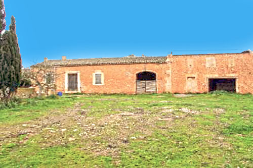 Playa Romantica Finca with country house ruins for sale in Mallorca