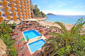 Calvia unique commercial property in frontline on the beach of Magaluf