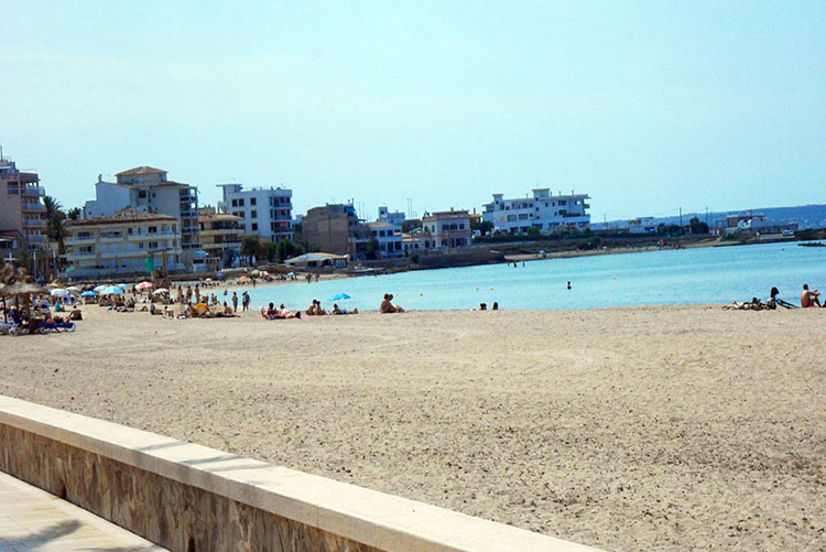 Ciutat Jardi beach and real estate in the area