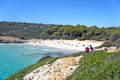 Beach Cala Varques in Cala Romantica